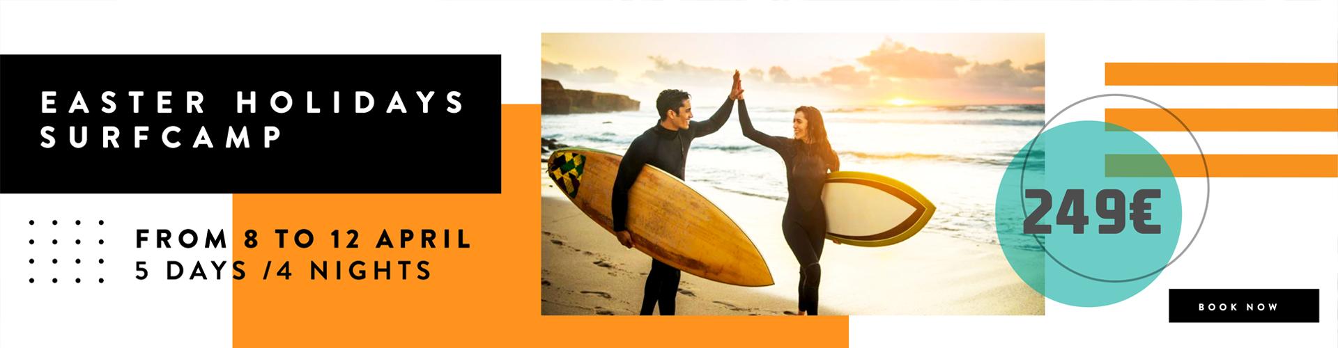 Oferta Surfcamp 7 días y 6 noches